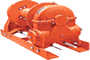 Tulsa Model RN100W Worm Drive Hydraulic Winch
