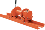 Tulsa Model RN10W Worm Drive Hydraulic Winch