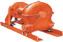 Tulsa Model RN130W Worm Drive Hydraulic Winch