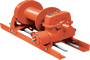 Tulsa Model RN20W Worm Drive Hydraulic Winch