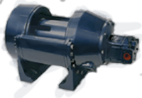 Pullmaster Model H18 Rapid Reverse Hydraulic Winch