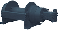 Pullmaster Model H30 Rapid Reverse Hydraulic Winch