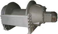 Pullmaster Model M18 Equal Speed Hydraulic Winch