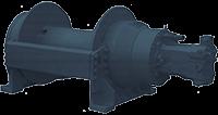 Pullmaster Model M30 Free Fall Hydraulic Winch