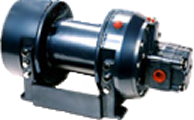 Pullmaster Model M5 Equal Speed Hydraulic Winch
