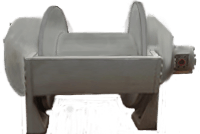 Pullmaster Model M50 Free Fall Hydraulic Winch