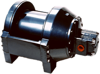 Pullmaster Model PL8 Equal Speed Hydraulic Winch