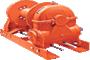 Tulsa Model RN100W Worm Drive Hydraulic Winch