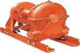 Tulsa Model RN130W Worm Drive Hydraulic Winch