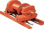 Tulsa Model RN20W Worm Drive Hydraulic Winch
